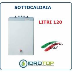 Scaldacqua ISSWT 120 - 120L Bollitore Singolo Serpentino Verticale Vetroporcellanata Styleboiler