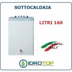 Scaldacqua ISSWT 160-160L Bollitore Singolo Serpentino Verticale Vetroporcellanata Styleboiler