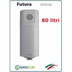 Scaldacqua Futura 080 - 80L a Pompa di Calore Aria-Acqua in Acciaio Vetroporcellanata Styleboiler
