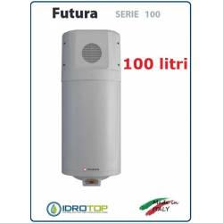 Scaldacqua Futura 100 - 100L a Pompa di Calore Aria-Acqua in Acciaio Vetroporcellanata Styleboiler