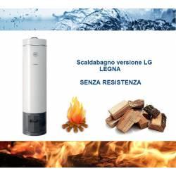 Scaldabagno LG 80L a Legna ad Accumulo in Acciaio Vetroporcellanata Styleboiler