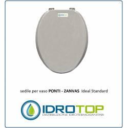 COPRIWATER SEDILE per PONTI Z-ZANVAS 3157/58 Ideal Standard