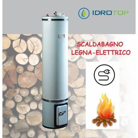 Scaldabagno a legna elettrico basamento litri 80 le sx0080c2v - Scaldabagno elettrico 80 litri prezzo ...