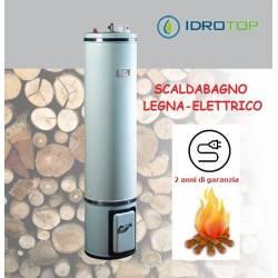 Scaldabagno a Legna Elettrico LE80 Scaldacqua Coibentato in Lana Vetro Bandini