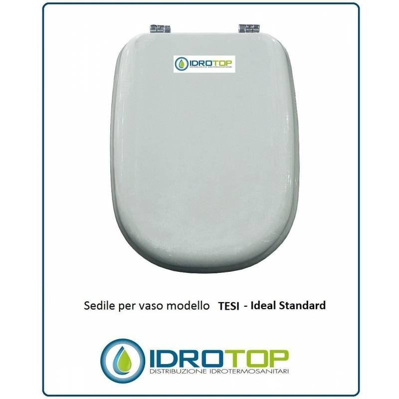 Copriwater ideal standard tesi bianco for Ideal standard cantica copriwater