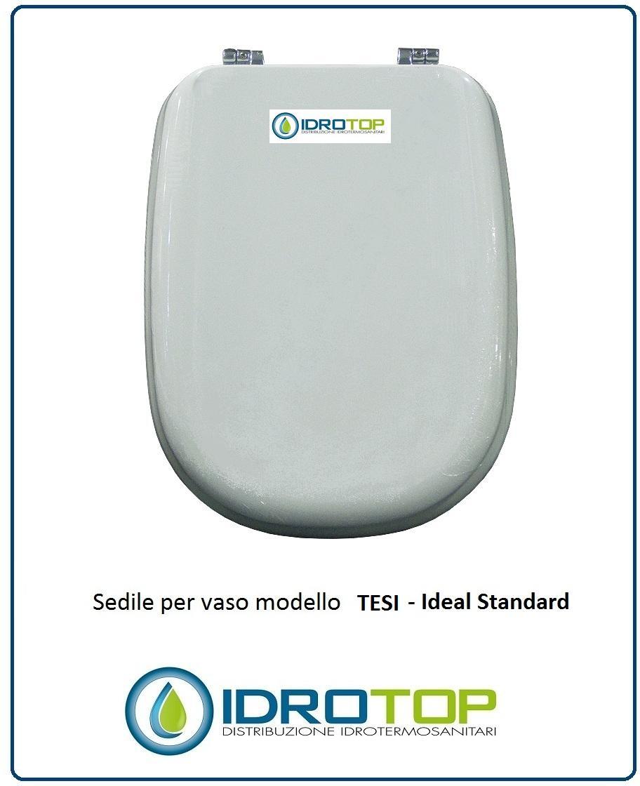 Sedile Wc Ideal Standard Serie Tesi.Copriwater Ideal Standard Tesi Bianco