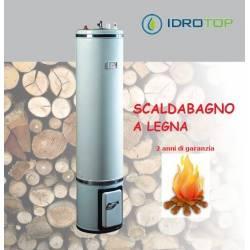 Scaldabagno a Legna L80 Scaldacqua Coibentato in Lana Vetro Bandini Ita