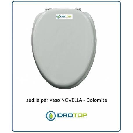 Ceramica Dolomite Novella Mini.Copriwater Sedile Per Vaso Modello Novella Dolomite