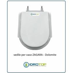 COPRIWATER SEDILE per VASO modello ZAGARA DOLOMITE