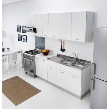 Sottolavello mobile per cucina 120 per lavello inox