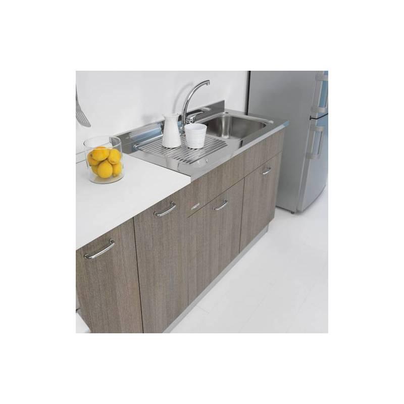 Sottolavello mobile per cucina 120 per lavello inox - Mobile sottolavello cucina 120 ...