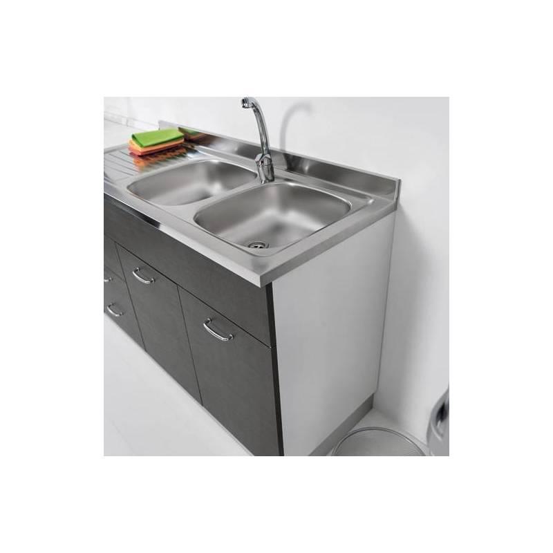 Sottolavello mobile per cucina 120 per lavello inox - Lavello e sottolavello cucina ...