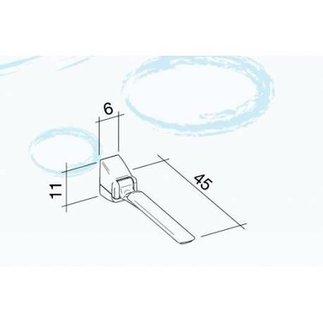 Braccioli disabili Ribaltabili da muro BIANCO K design