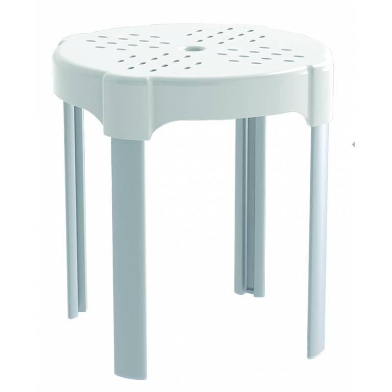 Sgabello disabili da bagno altezza 38cm bianco for Sgabello bagno design