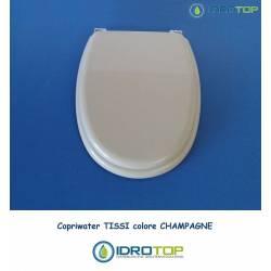 Copriwater Catalano TISSI CHAMPAGNE Cromo-Sedile-Asse Wc
