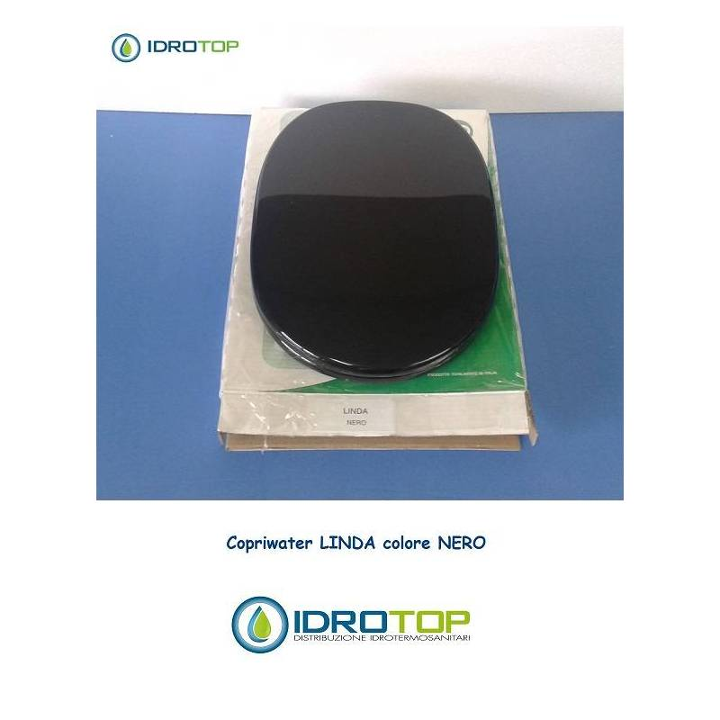 Copriwater ideal standard linda nero for Copriwater ideal