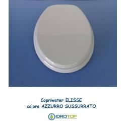 Copriwater Ideal Standard ELLISSE-ELLISSE PIU' AZZURRO SUSSURRATO Cerniera Cromo-Sedile-Asse Wc