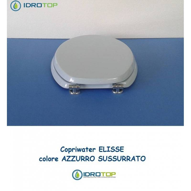 Copriwater ideal standard ellisse ellisse piu 39 azzurro for Ellisse ideal standard
