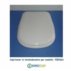 Copriwater compatibile Pienza Senesi in termoindurente Bianco Euro