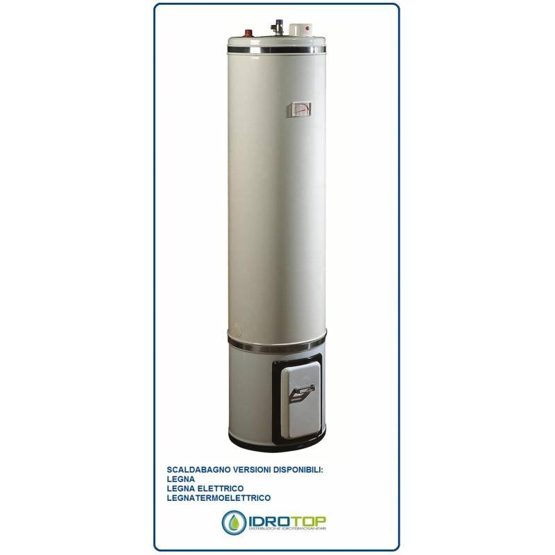 Scaldabagno a legna elettrico basamento litri 80 le sx0080c2v - Scaldabagno a condensazione prezzi ...