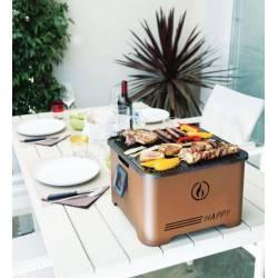 Barbecue Grill Happy  portatile INNOVATIVO  Funzionamento a PELLET salvaspazio