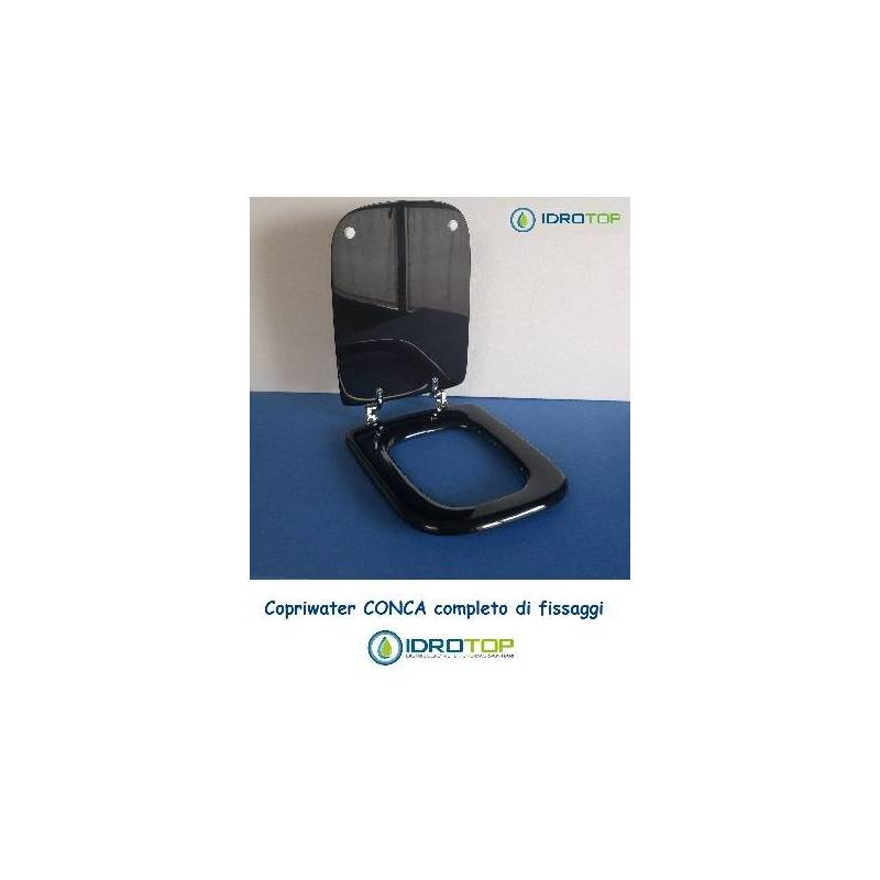 Copriwater ideal standard conca nero for Copriwater conca ideal standard
