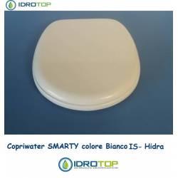 Copriwater Hidra SMARTY BIANCO IS Cerniera Cromo-Sedile-Asse Wc