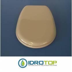 Copriwater Ideal Standard LIUTO GRIGIO SUSSURRATO Cerniera Cromo-Sedile-Asse Wc