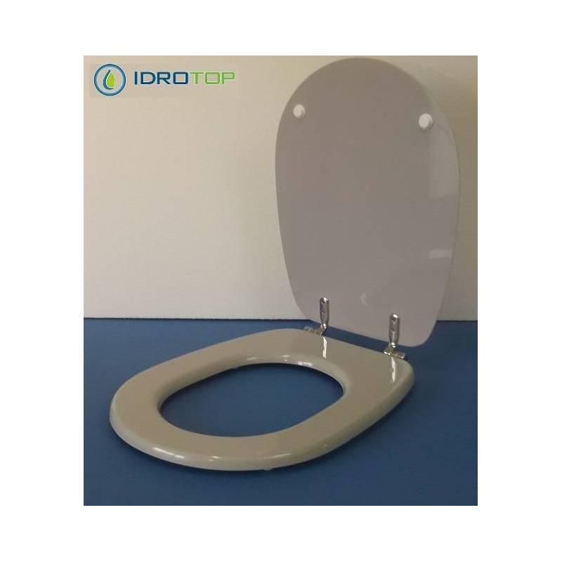 Copriwater ideal standard liuto grigio sussurrato for Ideal standard liuto