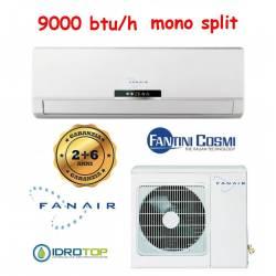 Climatizzatore Mono Split 9000 Btu/h Inverter Dc Fanair-Fantini Cosmi