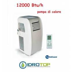 Climatizzatore Condizionatore Portatile 12000 Btu/h Pompa Calore Fanair-Fantini Cosmi
