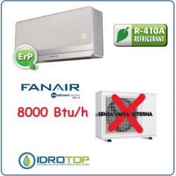 Climatizzatore 8000 Btu/h Senza Unità Esterna-Condizionatore Monoblocco Fanair-Fantini Cosmi
