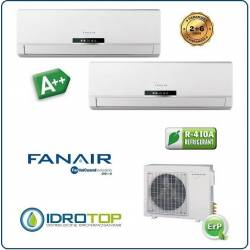 Climatizzatore Dual 2 Split Condizionatore Inverter Dc Fanair-Fantini Cosmi