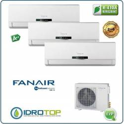 Climatizzatore Trial 3 Split Condizionatore Inverter Dc Fanair-Fantini Cosmi