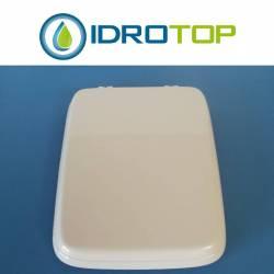 Copriwater Ideal Standard VELARA ROSA SUSSURRATO Cerniera Cromo-Sedile-Asse Wc
