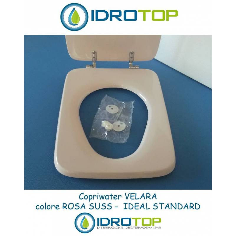 Copriwater ideal standard velara rosa sussurrato for Ideal standard cantica copriwater