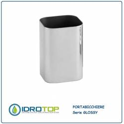 Portabicchiere GLOSSY in Acciaio Inox Lucido Ibb GL22