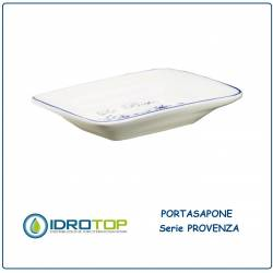 Portasapone PROVENZA in Ceramica Bianca ibb PR21