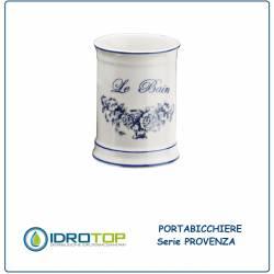 Bicchiere PROVENZA in Ceramica Bianca ibb PR22