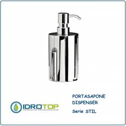 Portasapone a Dispenser STILL  in Acciaio Inox Ibb ST21D