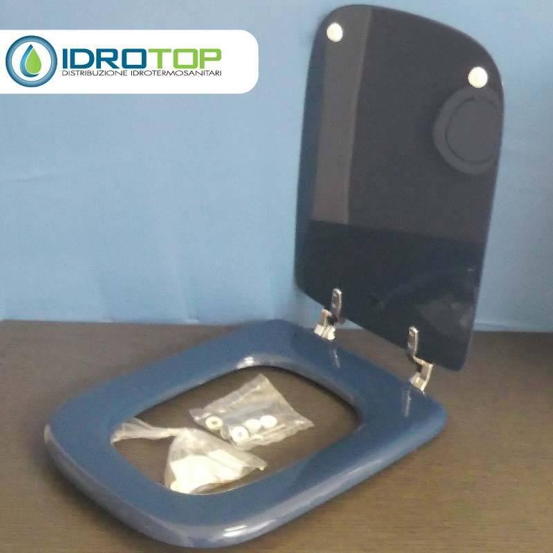 Copriwater ideal standard conca blu fondale for Ideal standard conca prezzo