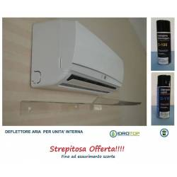 Deflector Air Conditioners 110cm+Cleaning Kit Split 400ml limited OFFER