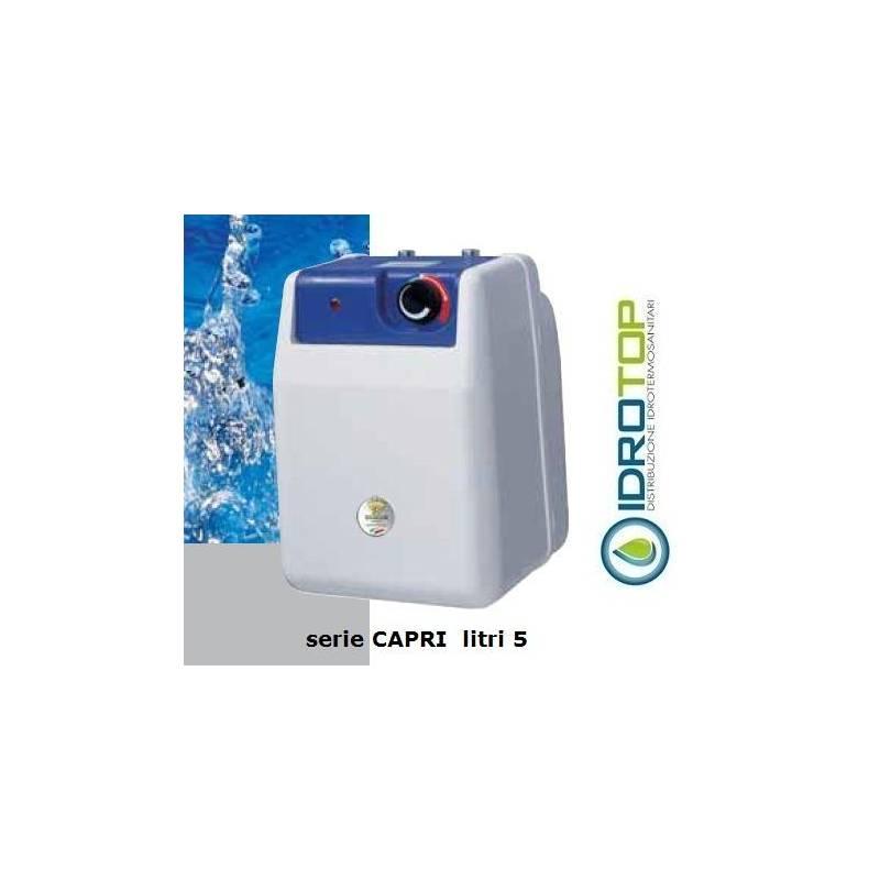 Scaldabagno elettrico 5 litri termosifoni in ghisa for Scalda acqua istantaneo elettrico