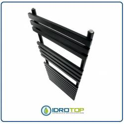 Scaldasalviette Recta 1200x500 Radiatore Antracite a Tubi Quadri Decowarm