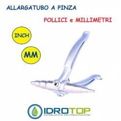 Espansore Allargatubo a Pinza Manuale per Millimetri e Pollici -Idrotop