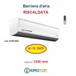 Barriera d'Aria 1200mm Centrifuga a Riscaldata con Resistenza e Telecomando Incluso