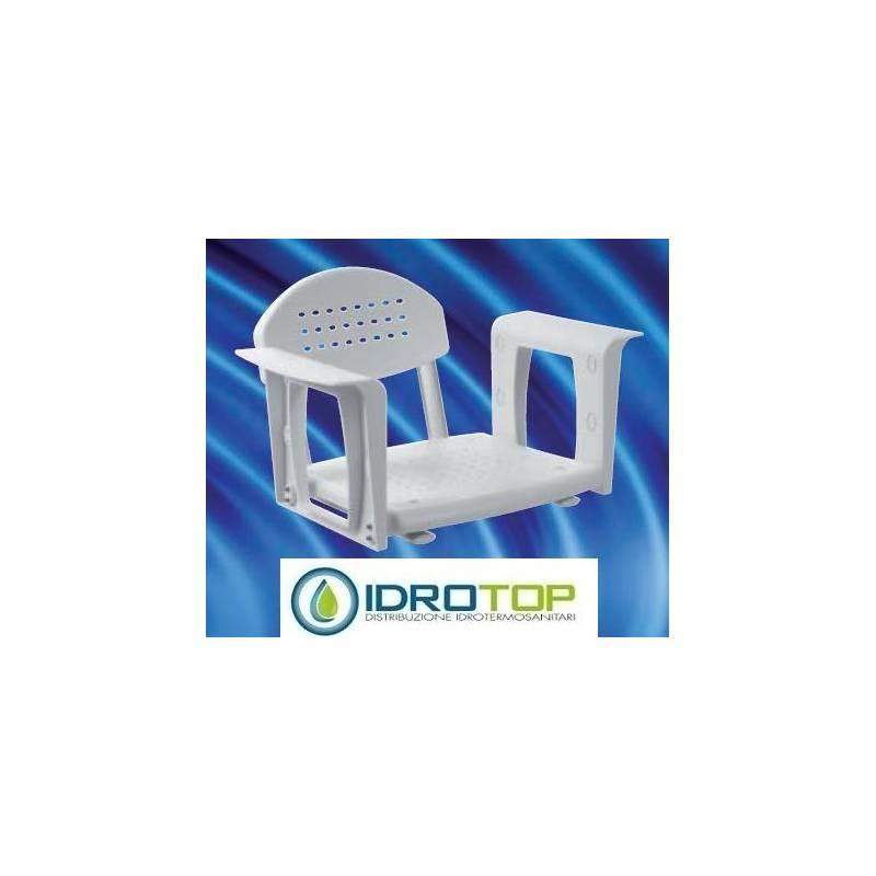 SEGGIOLINO VASCA regolabile con schienale HH 603 SVASC polipropilene