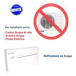 Climatizzatore Acqua/Aria 12000 Btu/h Senza Unità Esterna-Pompa di Calore Parkair