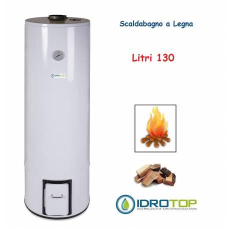 Scaldabagno a Legna LT 130 Scaldacqua Coibentato in Lana Vetro