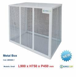 Gabbie di protezione SMALL 900x750x450 mm Metal Box per Climatizzatori Unità Esterna
